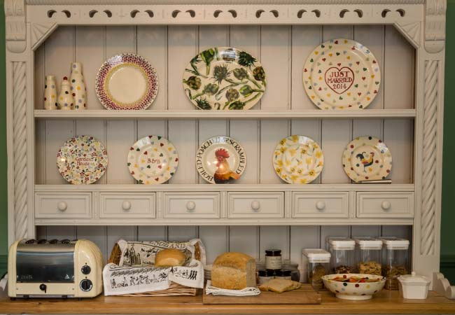Garden House Dining Room Display Plates