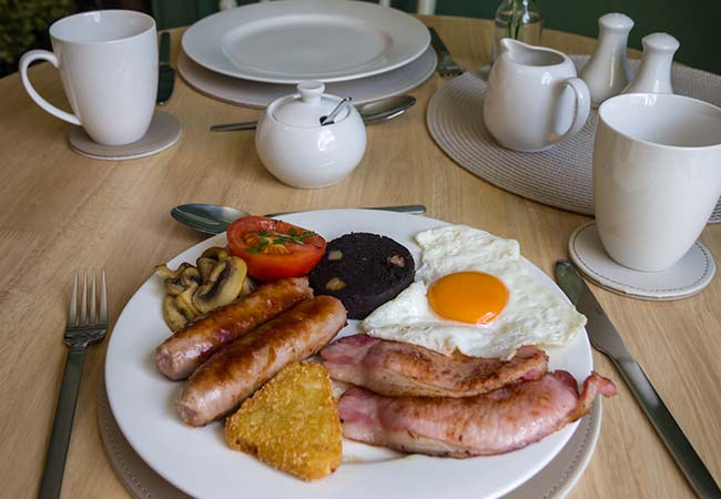 Garden House Full English Breakfast