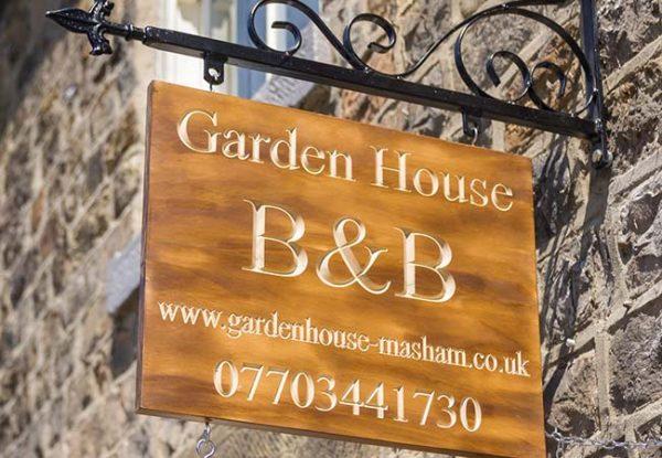 Garden House Sign